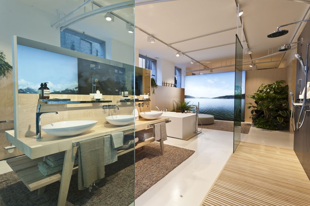 Axor Showroom Setting 3 AC by Luciano Pascali