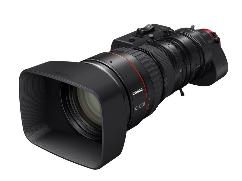Canon´il maailma pikima fookuskaugusega ultra-telefoto 4K servo-kinofilmiobjektiiv