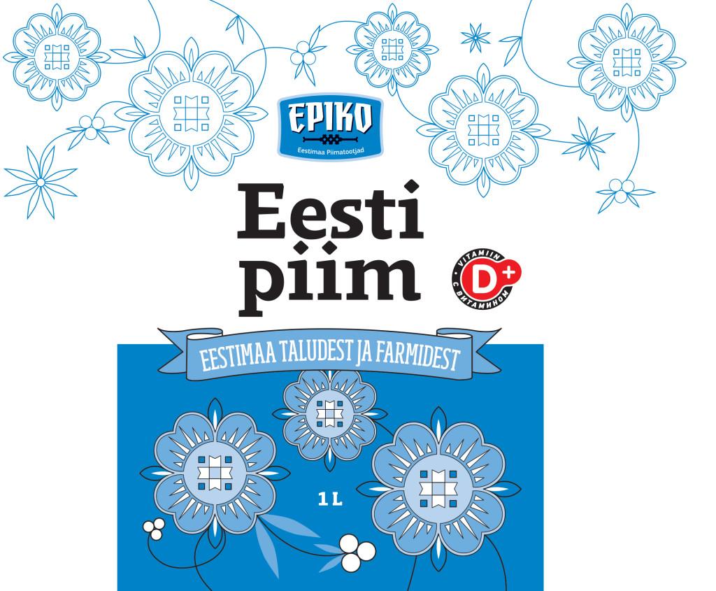 """Turule tuleb uus kaubamärk """"Eesti Piim"""""""