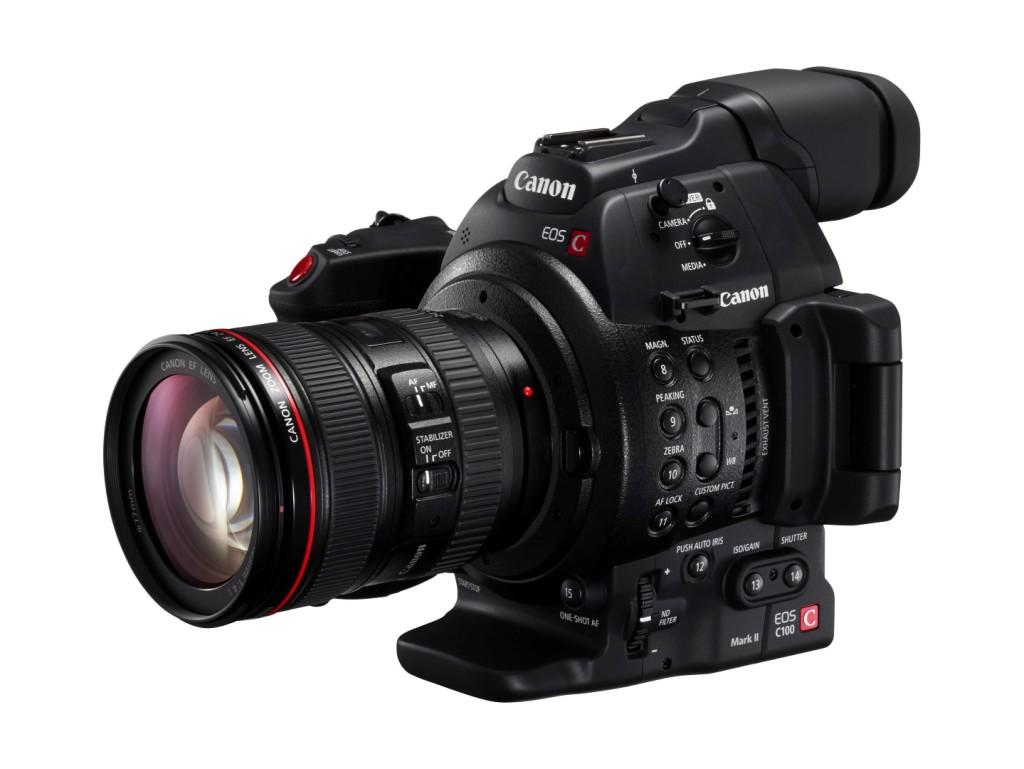 Canon´il nüüd uus EOS-kinofilmikaamera EOS C100 Mark II