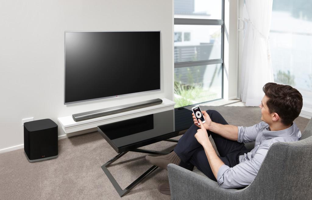 Nüüd ka Eestis müügil LG Sound Bar helisüsteem