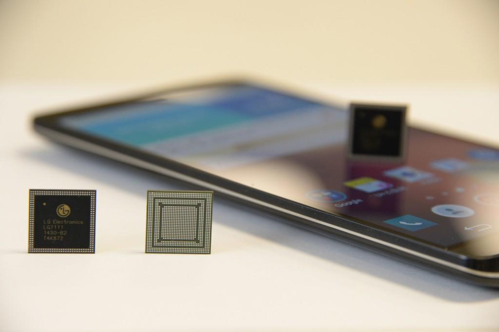 LG esitleb ettevõtte esimest mobiilseadmetele mõeldud protsessorit