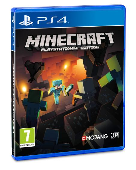 Minecraft PS4_3D Pack_PEGI