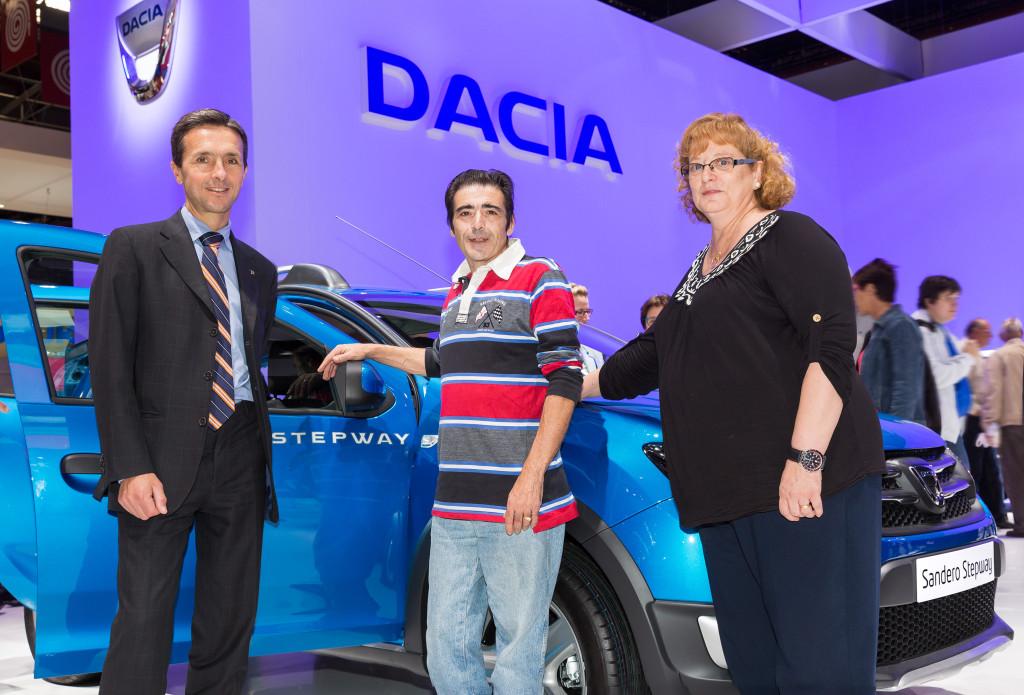 Dacial on kümnendiga kaubaks läinud kolm miljonit autot