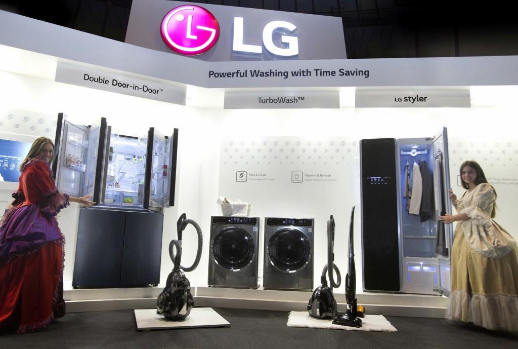 LG valmistas uued 2015. aasta pesumasinad ja külmikud