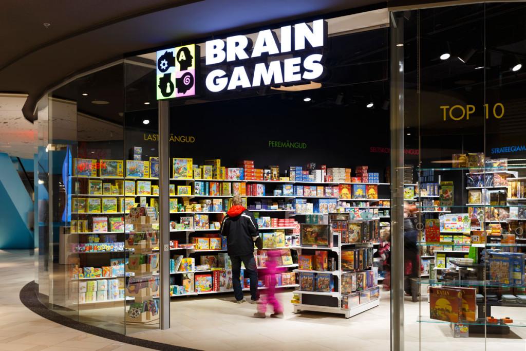 Brain Games on Ülemiste keskuse parim pood