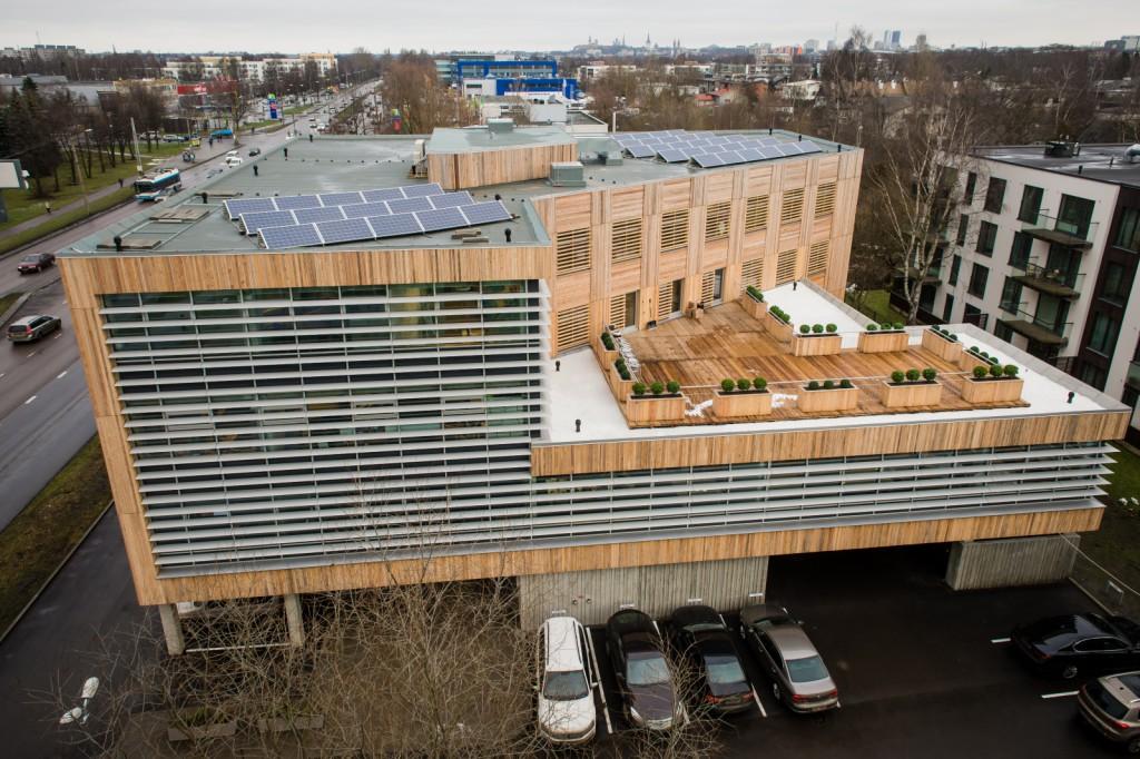 Tallinnas sai valmis Eesti esimene ökobüroohoone