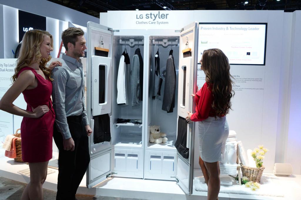 LG tutvustab järgmise generatsiooni rõivahooldussüsteemi LG Styler