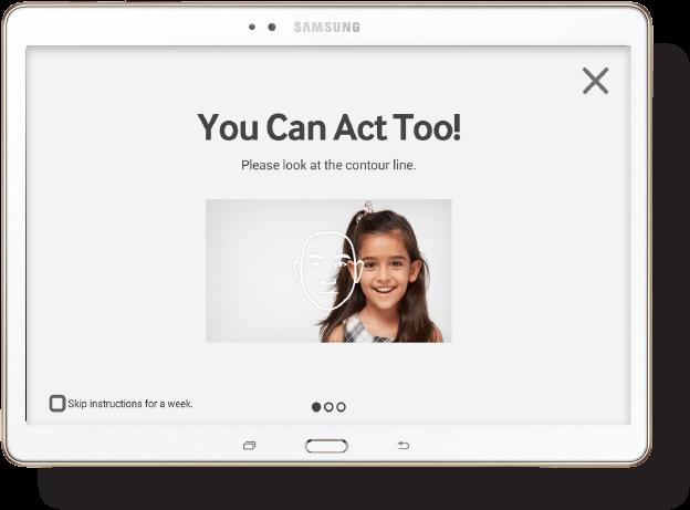 Samsungi mobiilirakendus Look at Me arendab autistide suhtlemisoskust