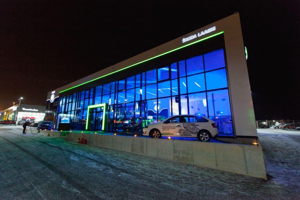 GALERII! Škoda avas Laagris Eesti moodsaima autosalongi