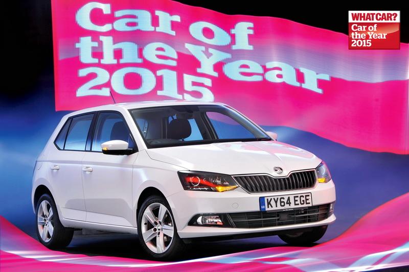 What Car? Aasta Auto 2015 on Škoda Fabia