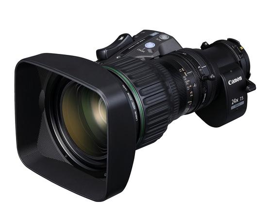 Canon tutvustab uut telesaadete tootmiseks loodud objektiivi HJ24ex7.5B