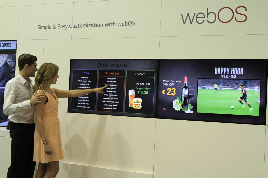 LG Smart Platform Signage with webOS