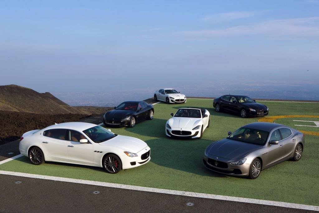 Maserati Product Range