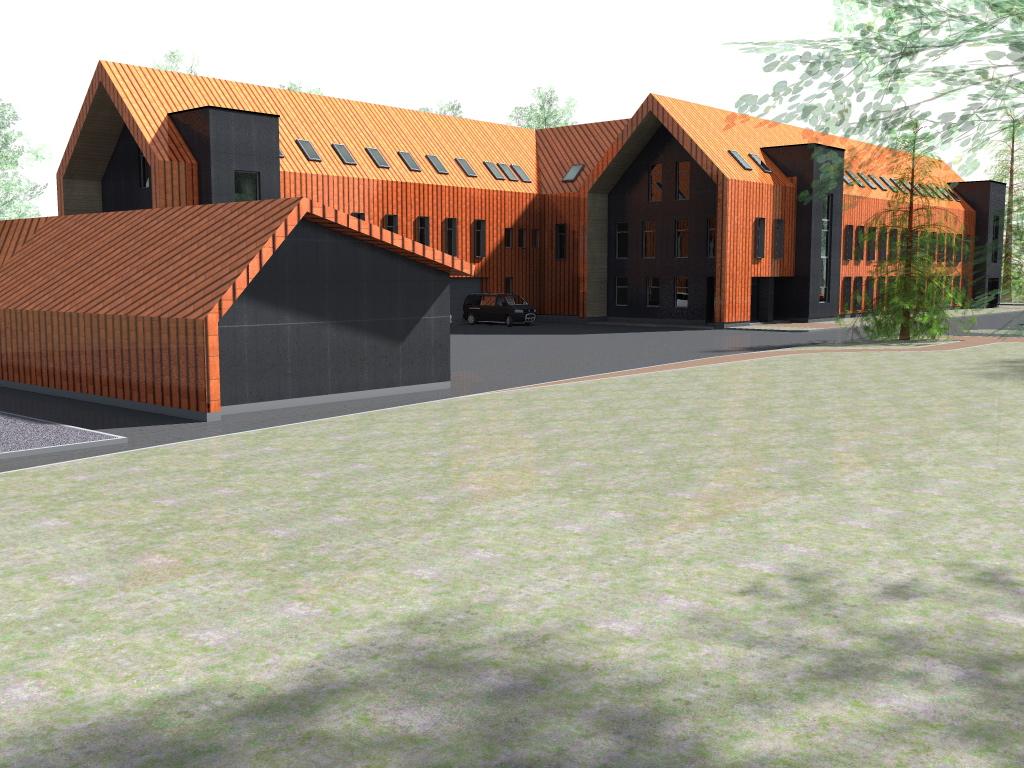 Nordecon sõlmis lepingu Piusa kordoni hoonete ehitustöödeks