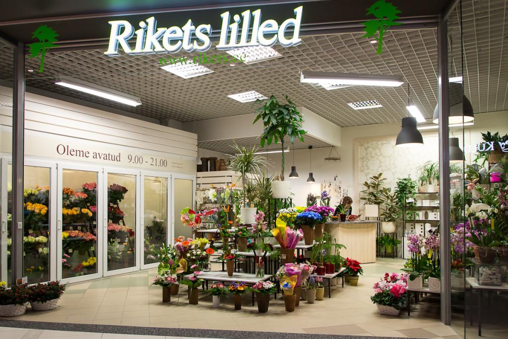 Rikets Lilled avab uue lillekaupluse Laagri Maksimarketis