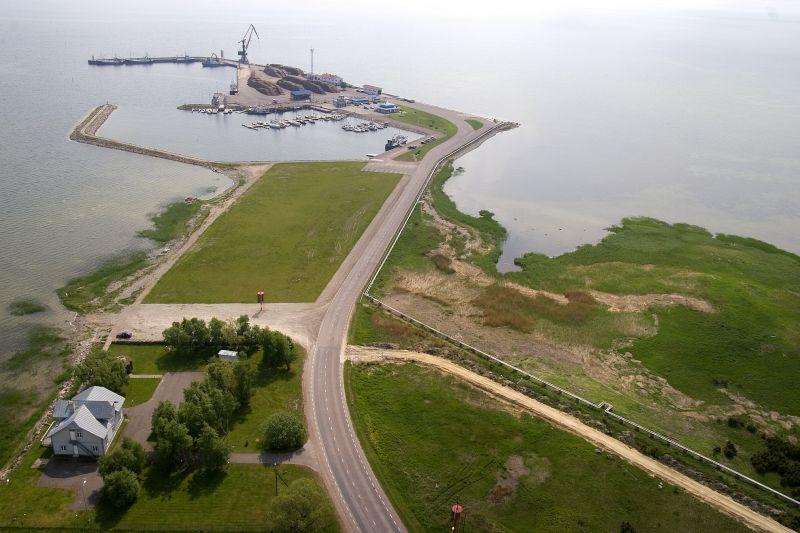 Roomassaare sadamast veeti mullu välja 406 000 tonni kaupa