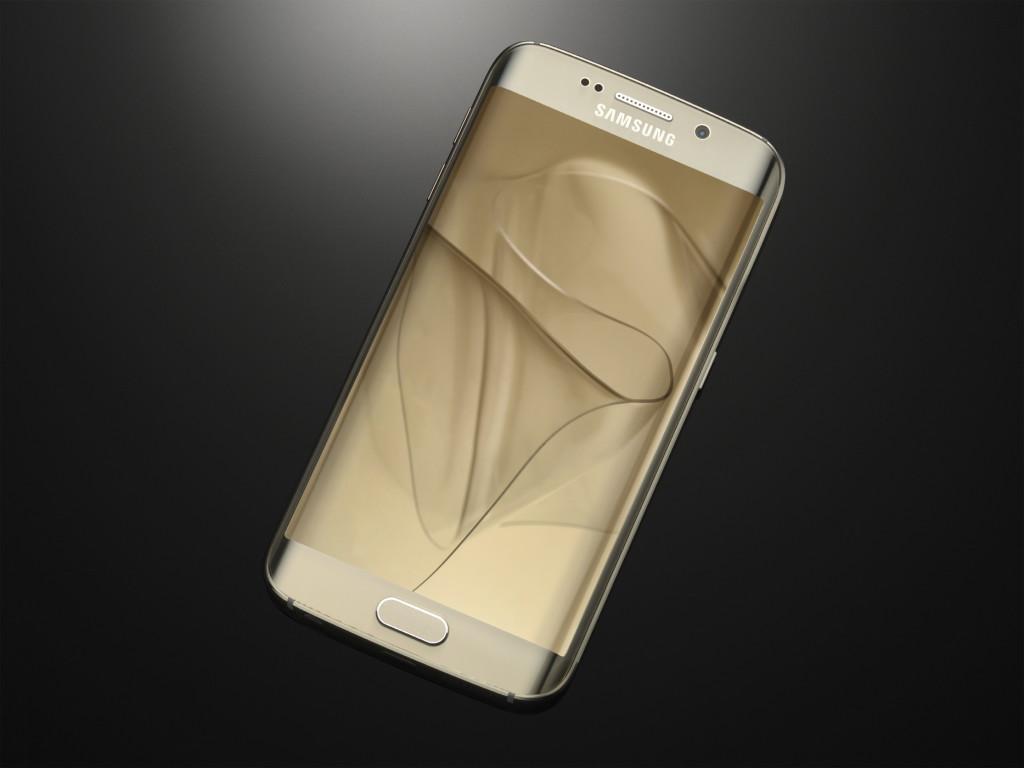 Galaxy S6 edge_Gold Platinum_Art Photo
