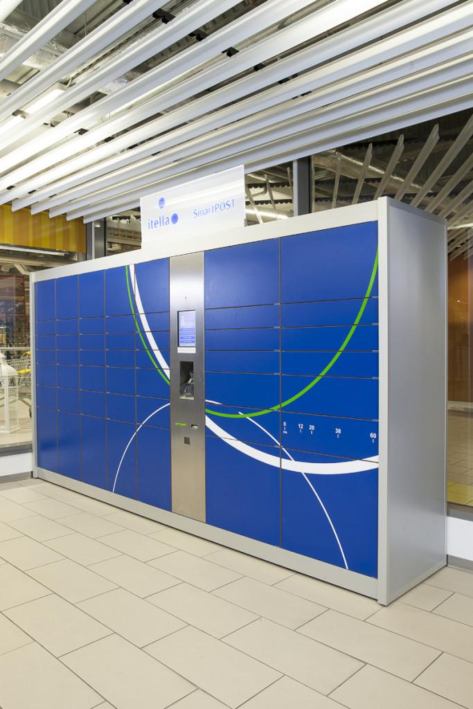 SmartPOST automaat
