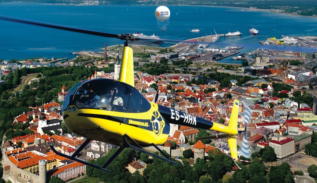 Balloon Tallinn pakub uuel hooajal ka kopterilende