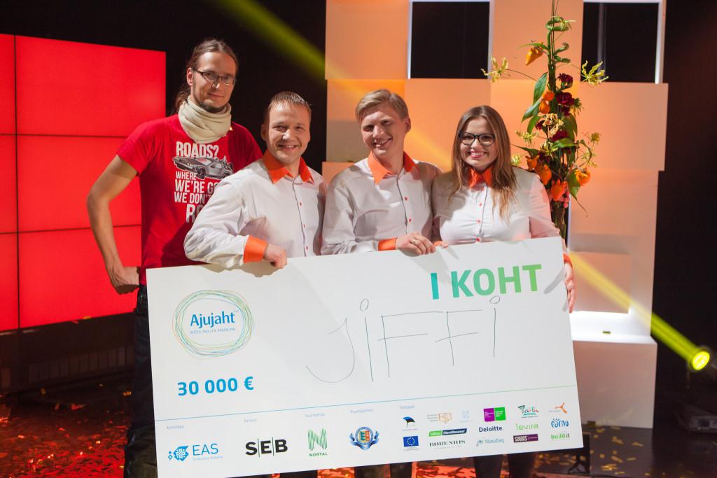 PALJU ÕNNE! Ajujaht 2015 võitja ja 30 000 euro omanik on Jiffi