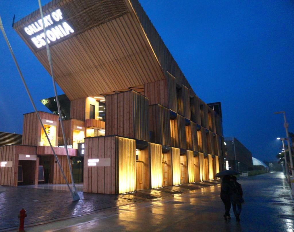 VAATA GALERIID! Eesti paviljon avas maailmanäitusel uksed
