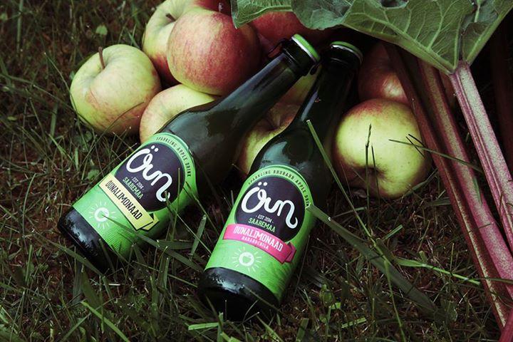 MEIE OMA ÕUNALIMONAAD! Saaremaal alustati naturaalsete õunalimonaadide tootmist