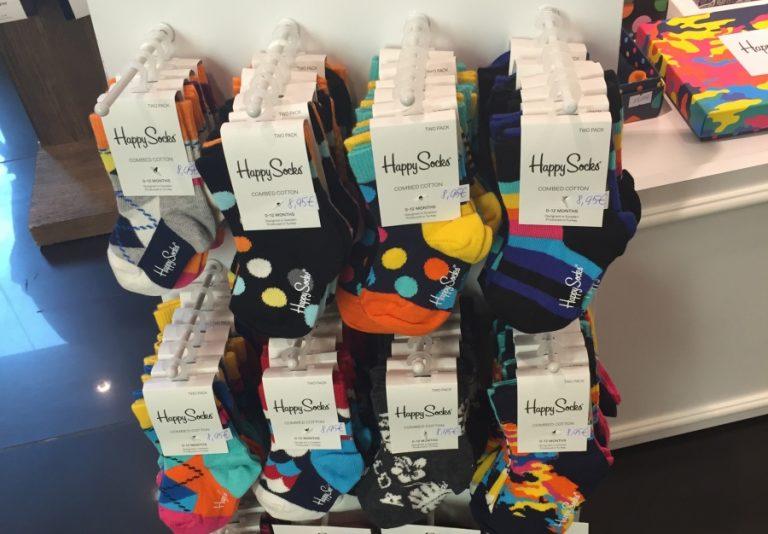 MAAILMAKUULUS SOKIBRÄND EESTIS! Happy Socks avas Tallinnas Baltikumi esinduspoe
