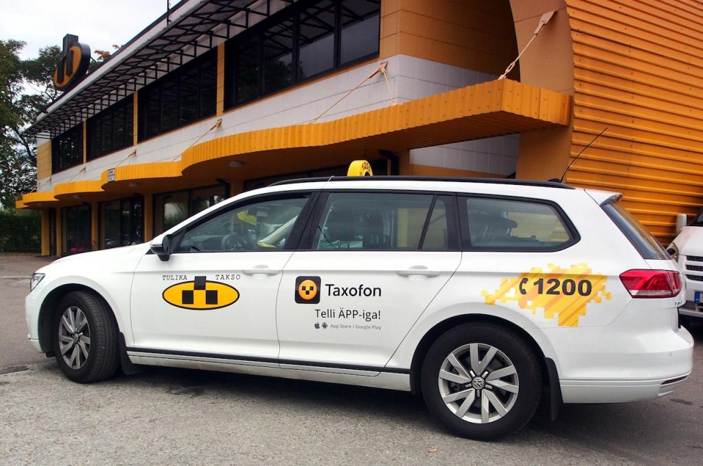 Tallink Takso ja Tulika lõid uue taksode tellimisäpi Taxofon