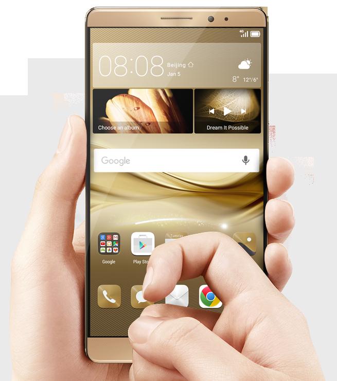 Huawei tutvustas tehnoloogiakonverentsil CES 2016 uut Mate 8 nutitelefoni