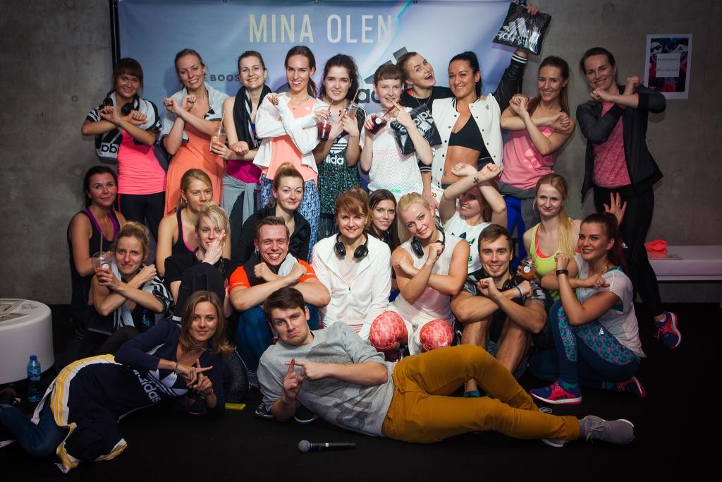 VAATA GALERIID! Adidas PureBoostX tõi Eestisse ainulaadse silent-disco treeningu