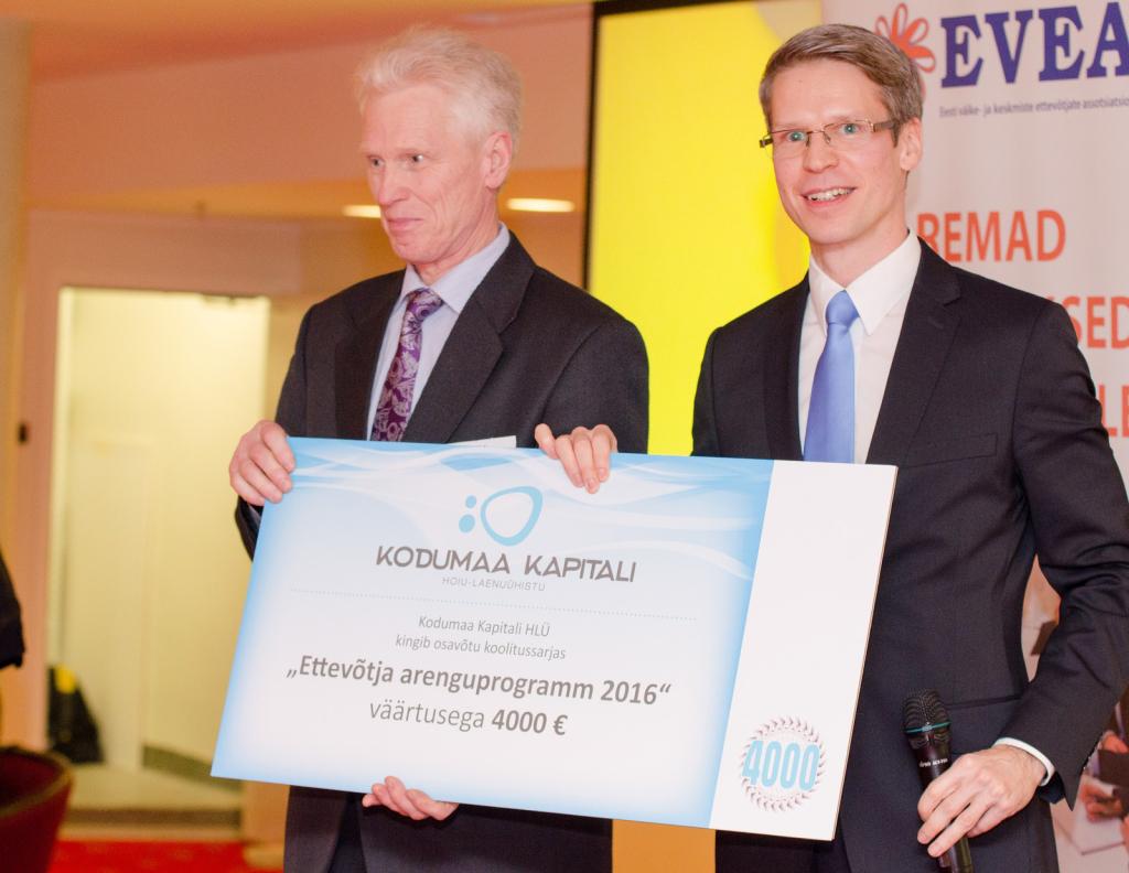 EVEA tegi teatavaks Eesti Ettevõtlik Vaim 2015 auhinnakategooriate võitjad