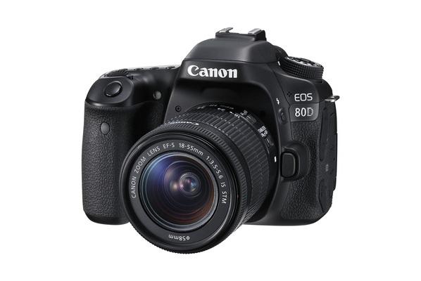 Canon tutvustab uut peegelkaamerat EOS 80D ja EF-S 18-135mm f/3.5-5.6 IS USM objektiivi