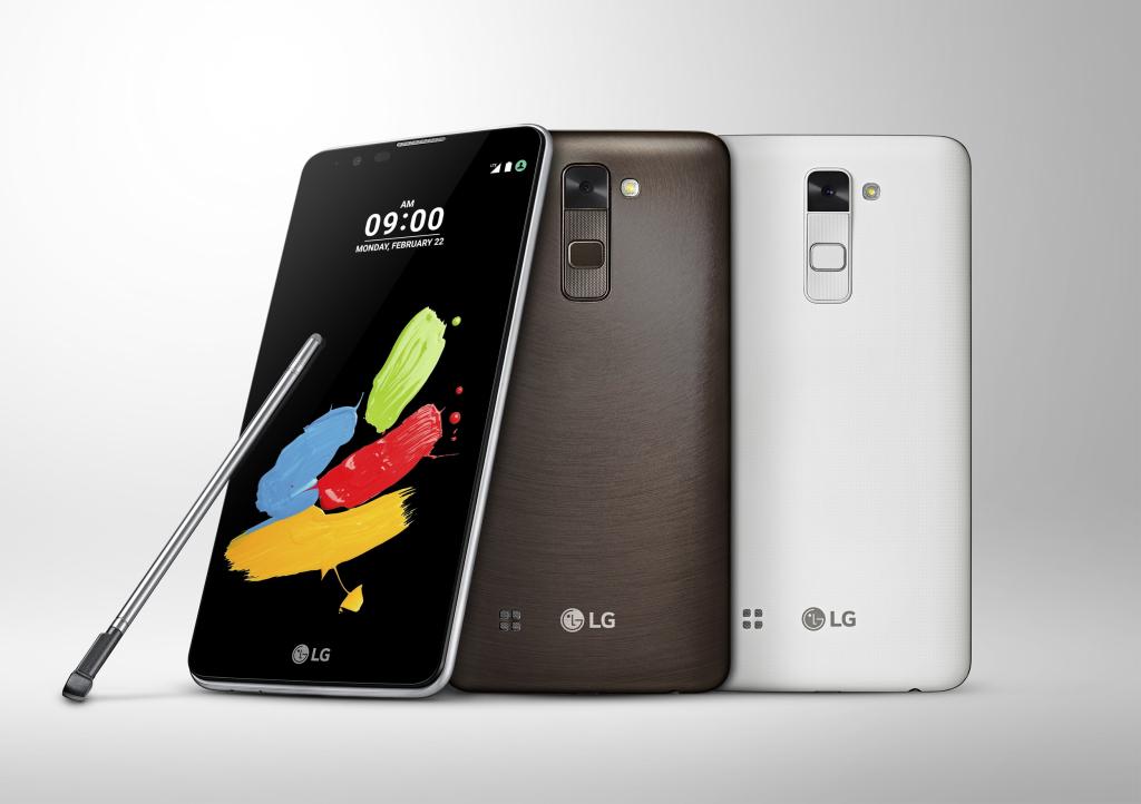 LG esitleb MWC 2016 tehnikamessil uut nutitelefoni LG Stylus 2