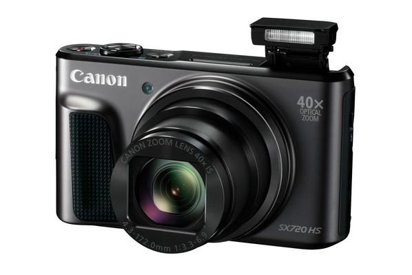 VÄGA ÕHUKE! Canon esitleb kõige õhemat 40x supersuumiga kaamerat PowerShot SX720 HS