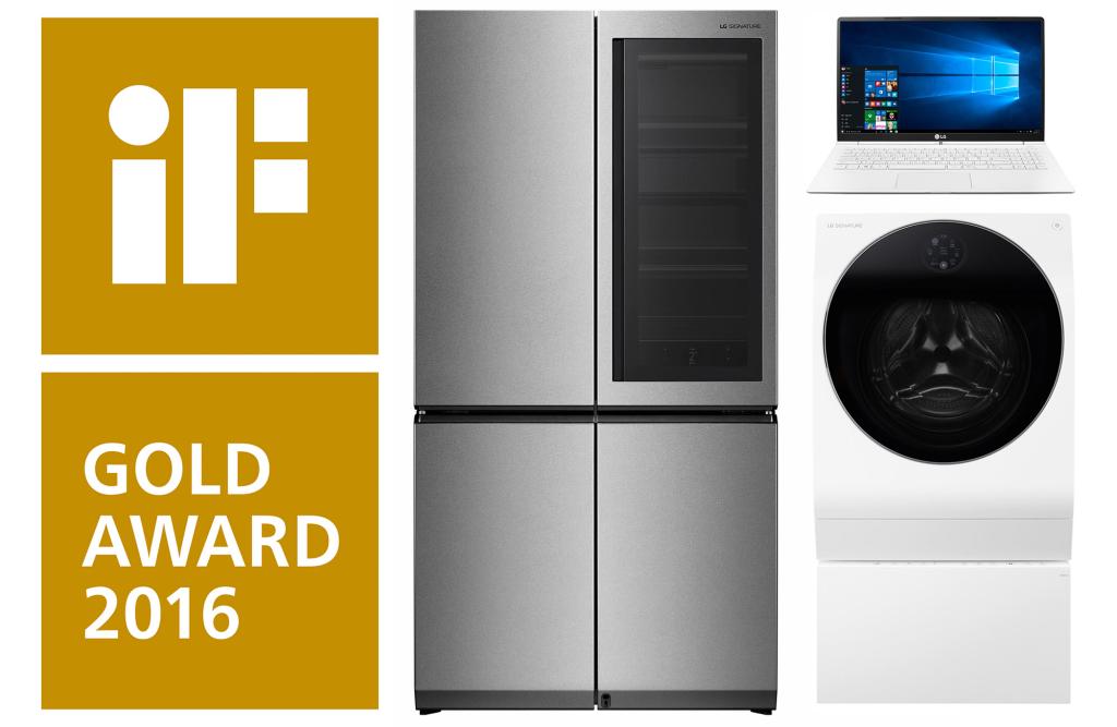 LG pälvis iF disainiauhindade jagamisel rekordarvu autasusid