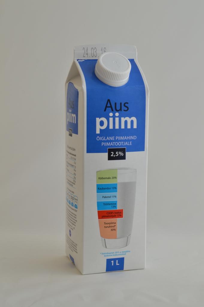 AUS PIIM! Ausat Piima müüdi esimeste päevadega üle 5000 liitri