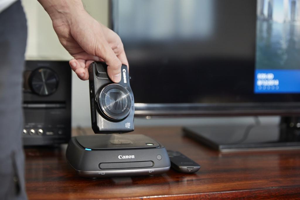 CANON ESITLEB! Pilditalletusseadme Connect Station CS100 nutitelefonirakendus ja uuendatud püsivara