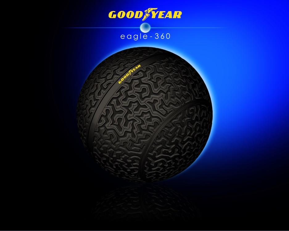 Goodyear esitleb Genfis kerakujulist ideerehvi Eagle-360