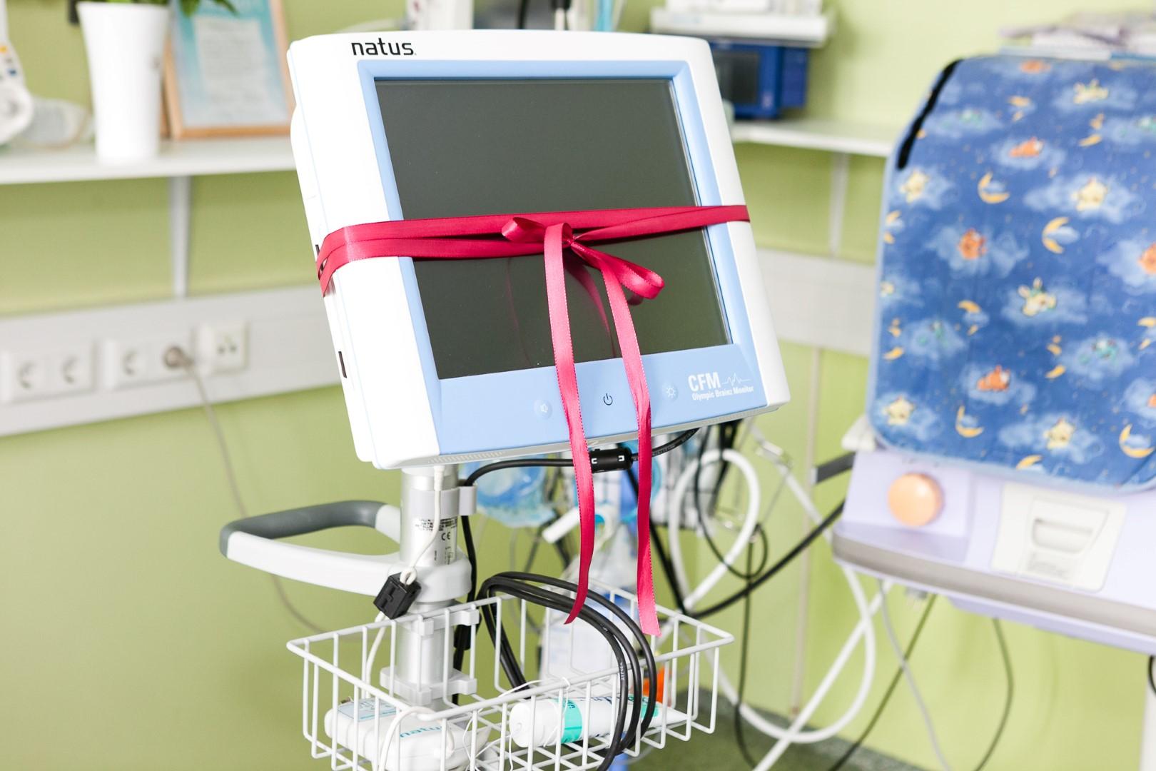 Annetuskampaania abil soetatud ajumonitori ehk amplituud EEG