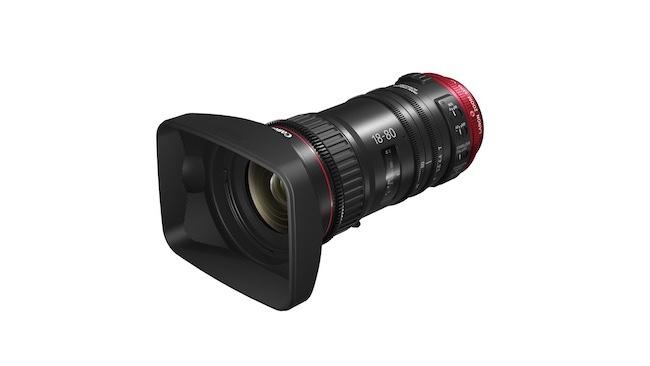 Canon tõi turule kompaktse cine-servo objektiivi