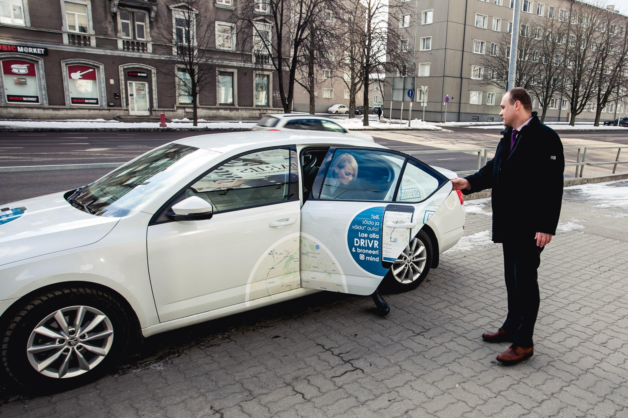 SÕIDA TÄNA TASUTA! Drivr Eesti toetab seadusloomet tasuta sõidu päevaga