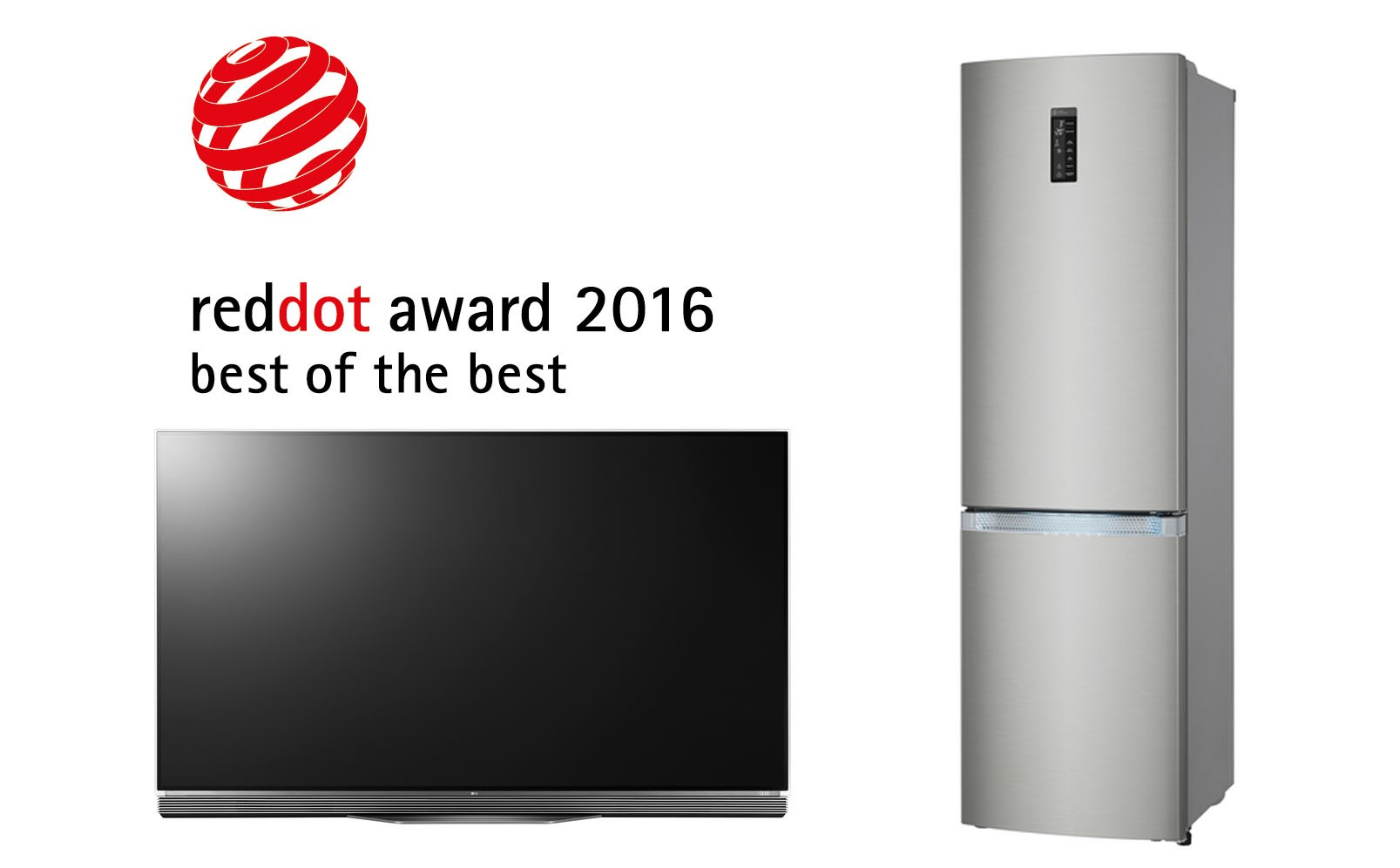 RED DOT 2016! LG võitis 32 Red Dot 2016 disainiauhinda