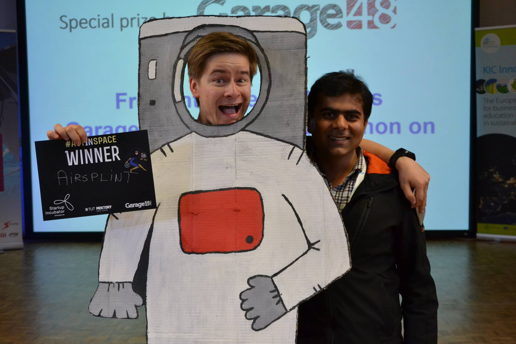 ActInSpace võitja Airsplint lihtsustab kosmosetehnoloogia abil parameedikute tööd