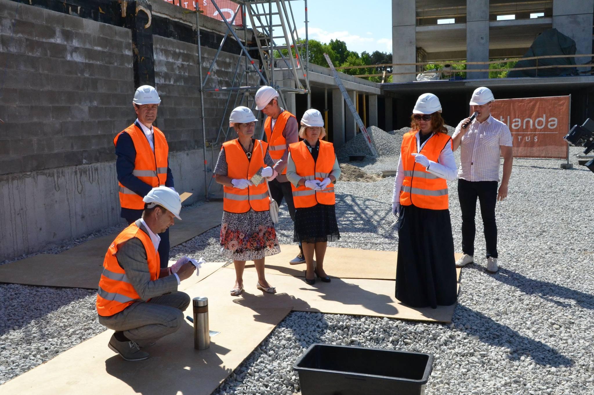 FOTOD! Teaduspargi Tehnopol uus büroohoone kompleks sai nurgakivi