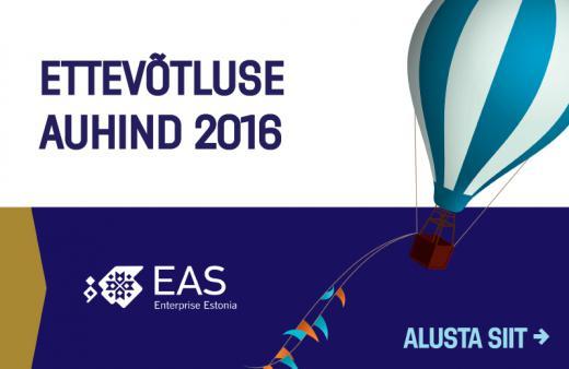 ETTEVÕTLUSE  AUHIND! Eesti suurim ettevõtluskonkurss ootab kandidaate