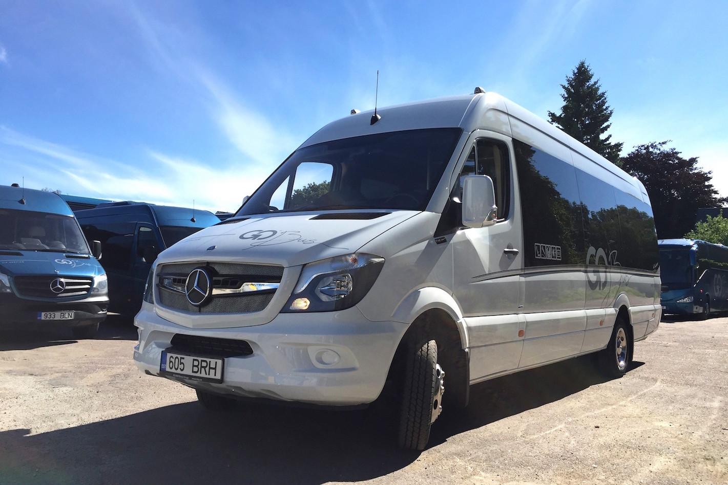 VIP-BUSSID! Go Bus hakkas Eestis sõitma tuttuute VIP-bussid
