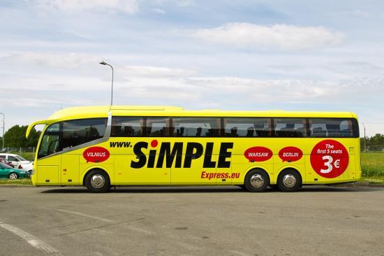 HOOAJALINE LIIN! Avati hooajaline bussiliin Tartu ja Peterburi vahel