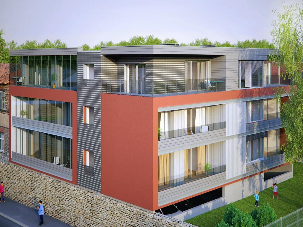 Tallinna kesklinna kerkib uus korterelamu