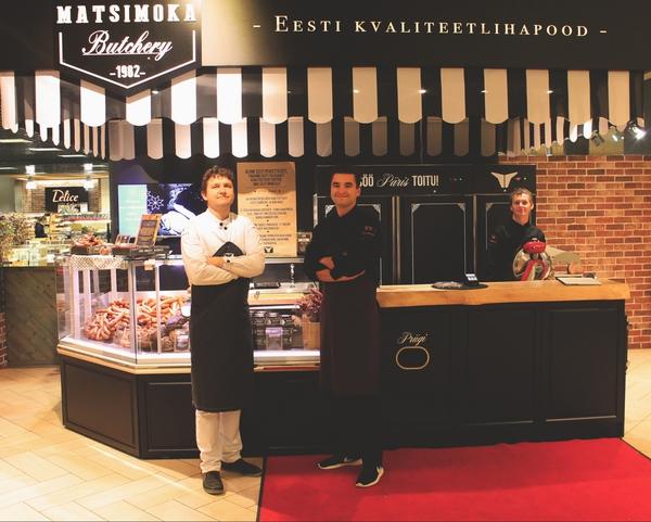Matsimoka pereettevõte avas Tallinnas oma esimese kvaliteetlihapoe